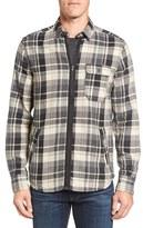 Jeremiah Men's Fargo Zip Flannel Shirt Jacket