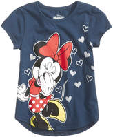 Disney Mickey Loves Minnie T-Shirt, Little Girls