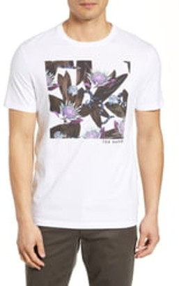 Ted Baker Floral Graphic Trim Fit T-Shirt