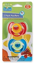 Sesame Street Sesame Beginnings 2 Piece Pacifier Set