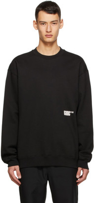 Oamc Black Daido Sweatshirt