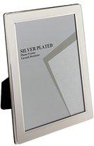 U-NI-TY 2.5 x 3.5-inch Flat Edge Photo Frame, Silver Plated