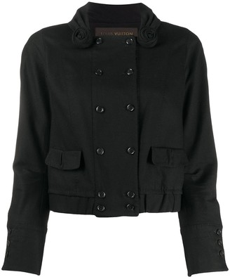 Louis Vuitton Pre-Owned Straight-Fit Double-Breasted Jacket