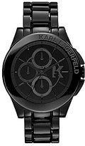 Karl Lagerfeld Sport Black Chronograph Bracelet Watch