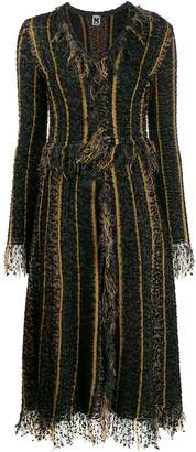 M Missoni long-sleeve flared dress