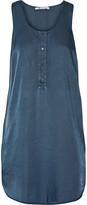 Alexander Wang Satin-twill mini dress