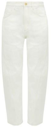 Ssōne Ssone - Yarrow High-rise Straight-leg Jeans - Ivory