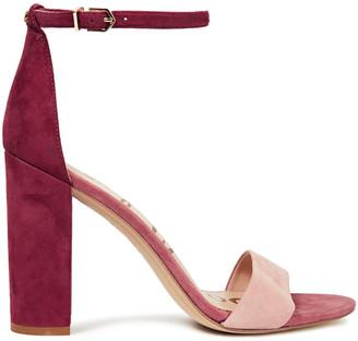 Sam Edelman Yaro Color-block Suede Sandals