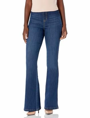 Vintage America Blues Women's Misses Modernized Pull On Flare Jean