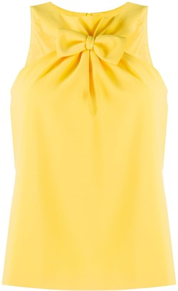 Boutique Moschino Front Bow Top