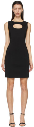 Givenchy Black Viscose Cut-Out Dress