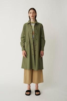 Just Female Khaki Green Trench Coat Nanita - Small