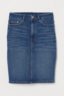 H&M Embrace Denim Skirt - Blue