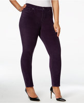 Style&Co. Style & Co Plus Size Velvet Skinny Pants, Only at Macy's