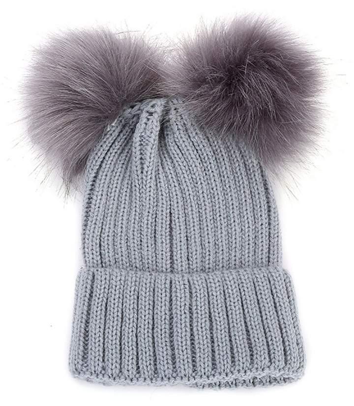 80f1631fc3fa0e Grey Faux Fur Hat - ShopStyle Canada