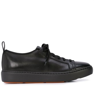 Santoni Lace-Up Low-Top Sneakers