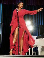 New York & Co. Chiffon-Overlay Maxi Dress
