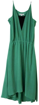 Country Road Green Silk Dress for Women