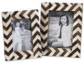 "Aurora Frame Set - 5""x7"" Brown/Ivory"