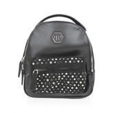 Philipp Plein Philipp PleinGirls Black Diamante Studded Star Backpack
