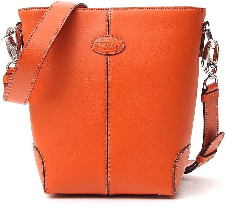Thumbnail for your product : Tod's Logo Bucket Bag