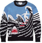Thom Browne - Jacquard-knit Cotton Sweater