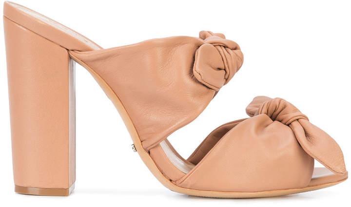Schutz bow strap sandals