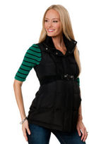 A Pea in the Pod Quilted Puffer Ponte Maternity Vest
