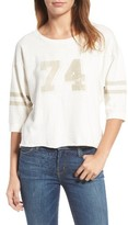 Current/Elliott Women's The Cheerleader Cotton Tee