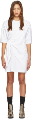 Victoria Victoria Beckham White Tie Front Dress