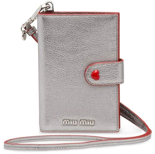 11525e0f2419 Silver Leather Wallet - ShopStyle