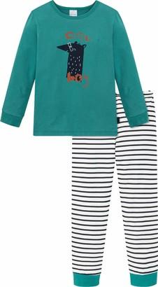 Schiesser Boy's Kn Schlafanzug Lang Pajama Set