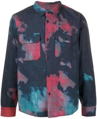Stussy Tie Dye Print Shirt