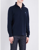 Polo Ralph Lauren Stand-collar Slim-fit Cotton-jersey Jumper