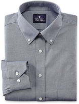 JCPenney Stafford Executive Non-Iron Cotton Pinpoint Oxford Shirt