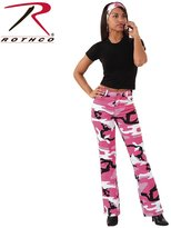 Rothco Womens Camouflage Stretch Flare Pants, - 11/12