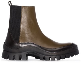 REJINA PYO Chunky Sole Ankle Boots