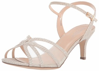 Paradox London Pink womens Helice Heeled Sandal