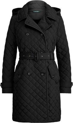 Ralph Lauren Quilted Trench Coat