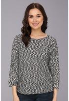 Kensie Space Dye Slub Sweater