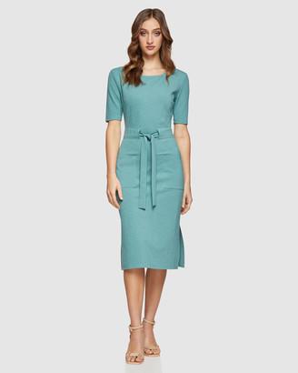 Oxford Reaba Ponti Dress