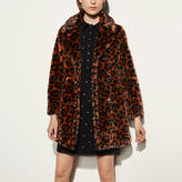 Coach Wild Beast Faux Fur Coat
