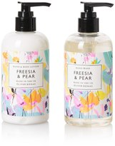 Oliver Bonas Freesia & Pear Hand Care Gift Set