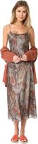 Vince Watercolor Printed Slip Dress