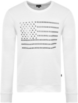 Just Cavalli Stars And Stripes Sweatshirt White