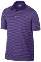 Nike Mens Victory Short Sleeve Mini Stripe Polo Shirt (L)