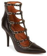 Givenchy Elegant Studded Leather Point Toe Pumps