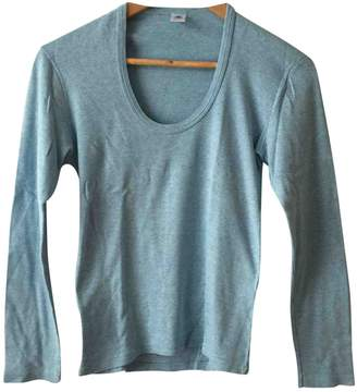 Petit Bateau Blue Cotton Top for Women