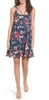 BP Women's Print Strappy Slipdress