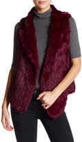 Joie Andoni Genuine Rabbit Fur Vest